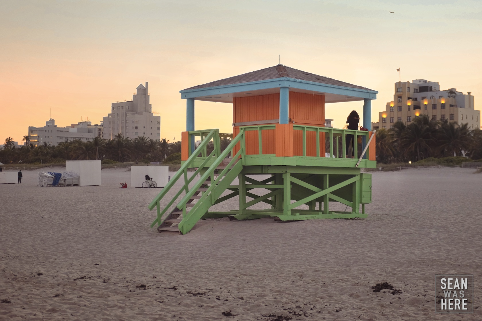 Miami Beach 14th Street Lifeguard Stand