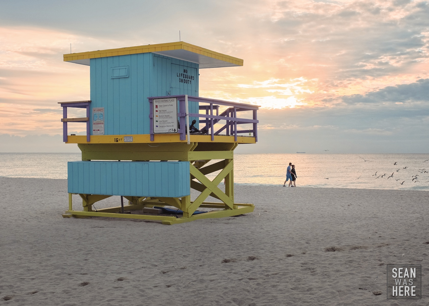 Miami Beach 15th Street Lifeguard Stand