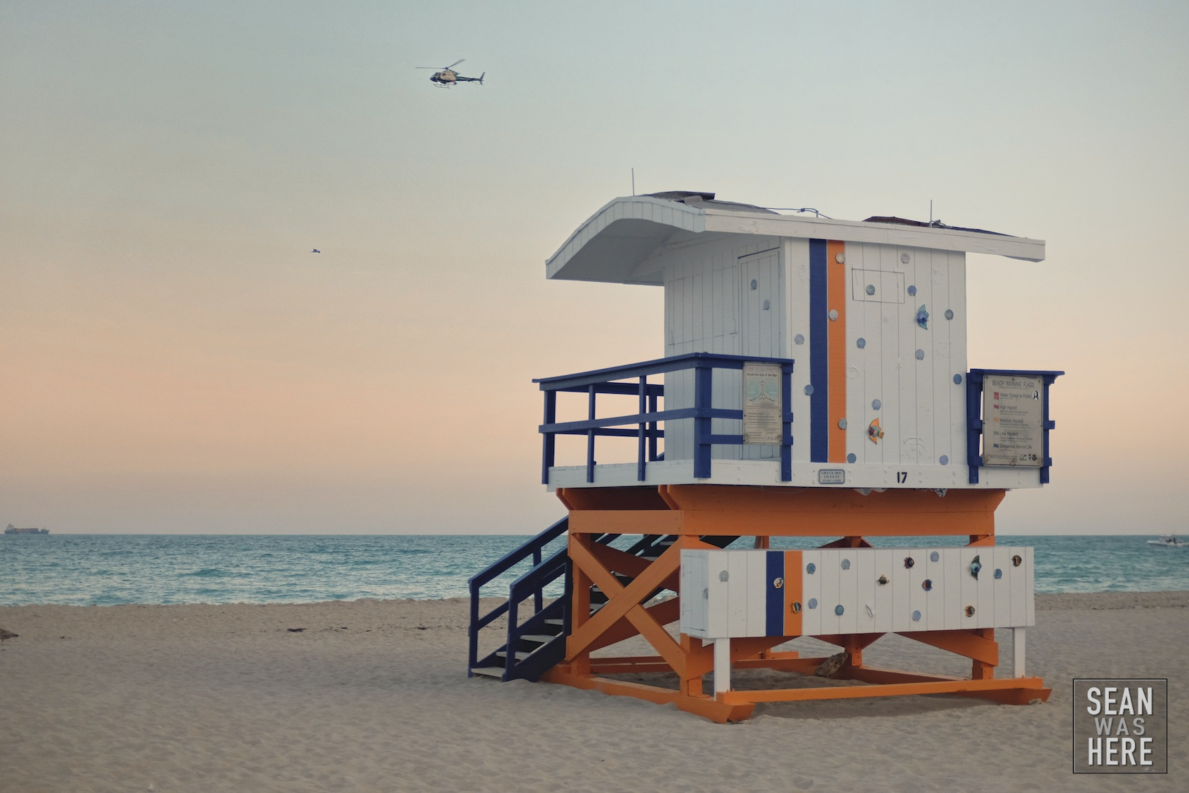 Miami Beach 17th Street Lifeguard Stand (Old)