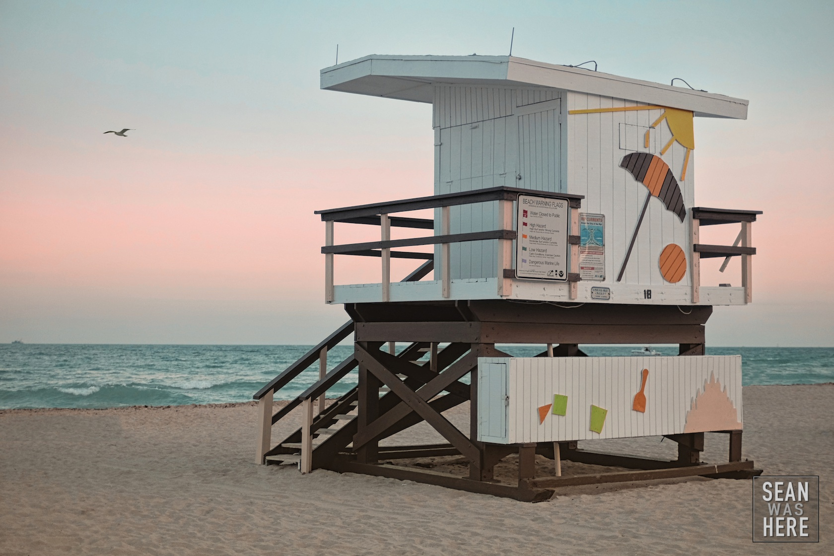 Miami Beach 1th Street Lifeguard Stand