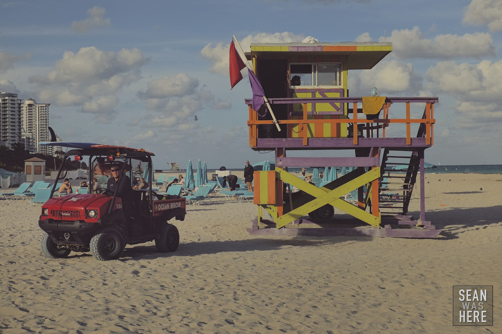 Miami Beach 30th Street Lifeguard Stand