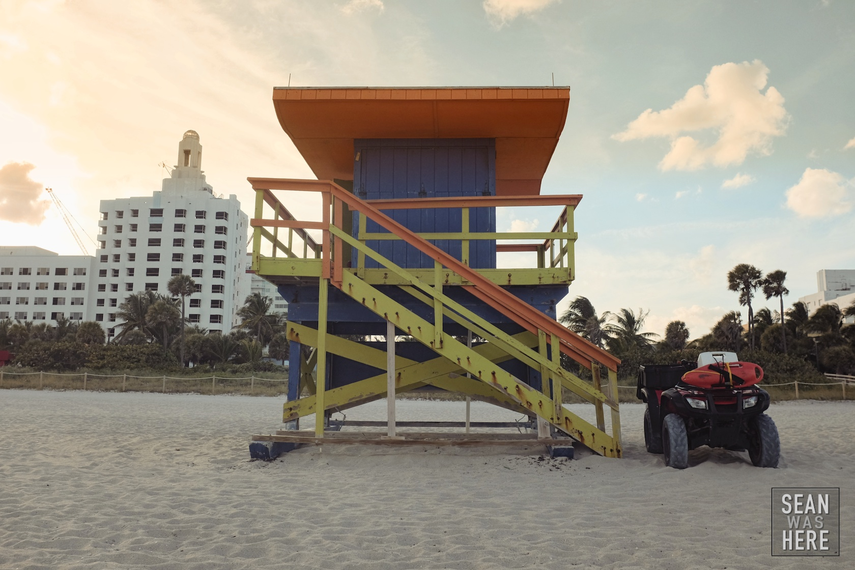Miami Beach 35th Street Lifeguard Stand