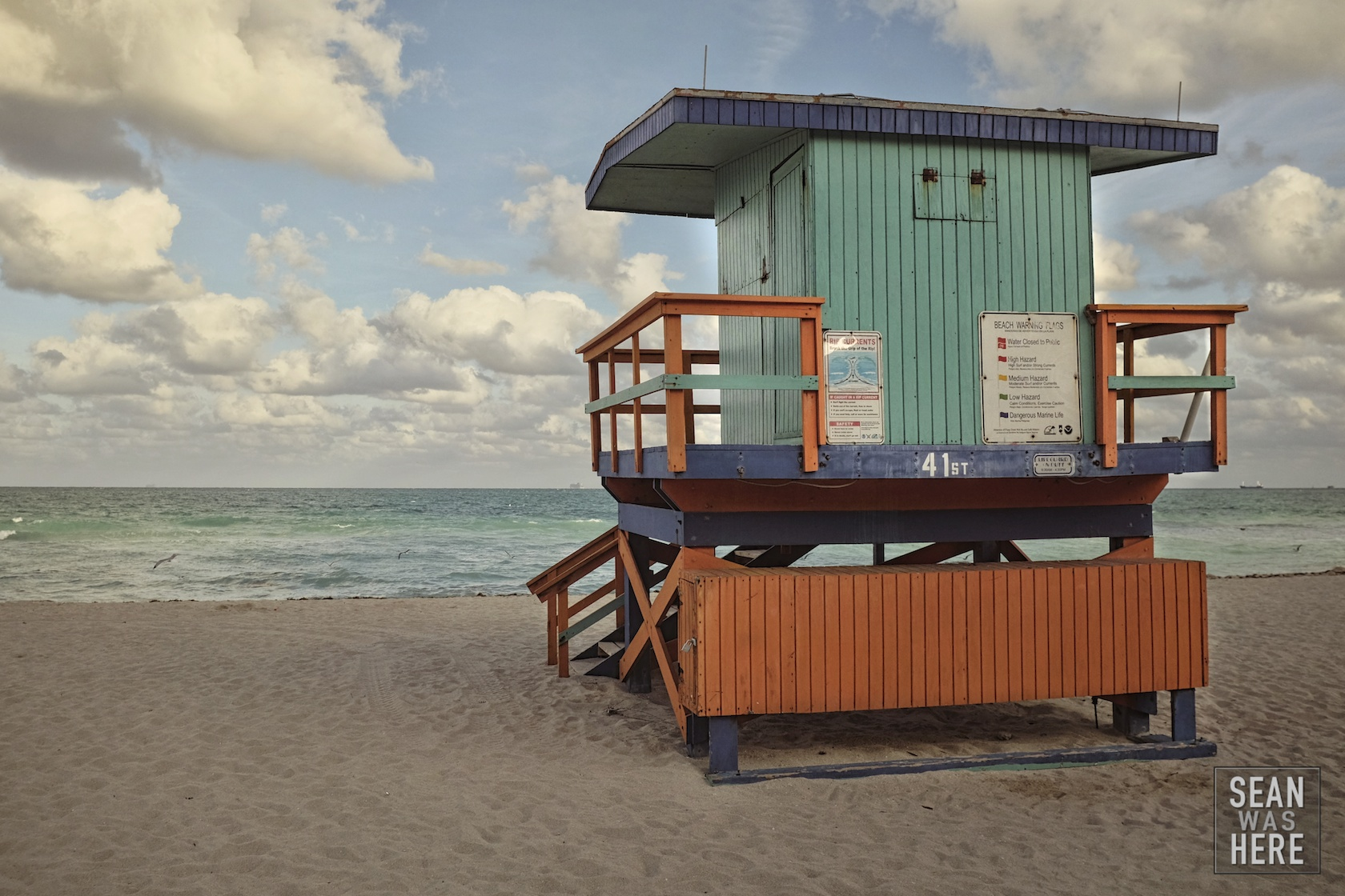Miami Beach 41st Street Lifeguard Stand