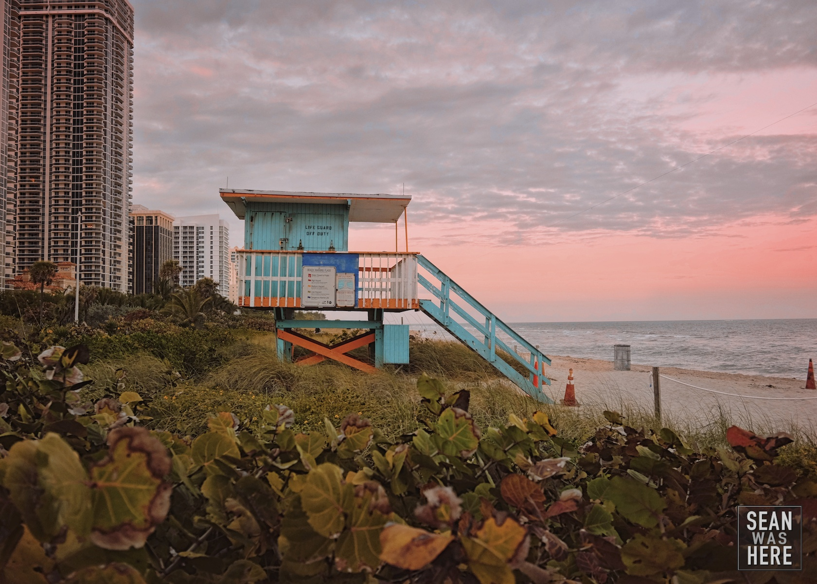 Miami Beach 46th Street Lifeguard Stand