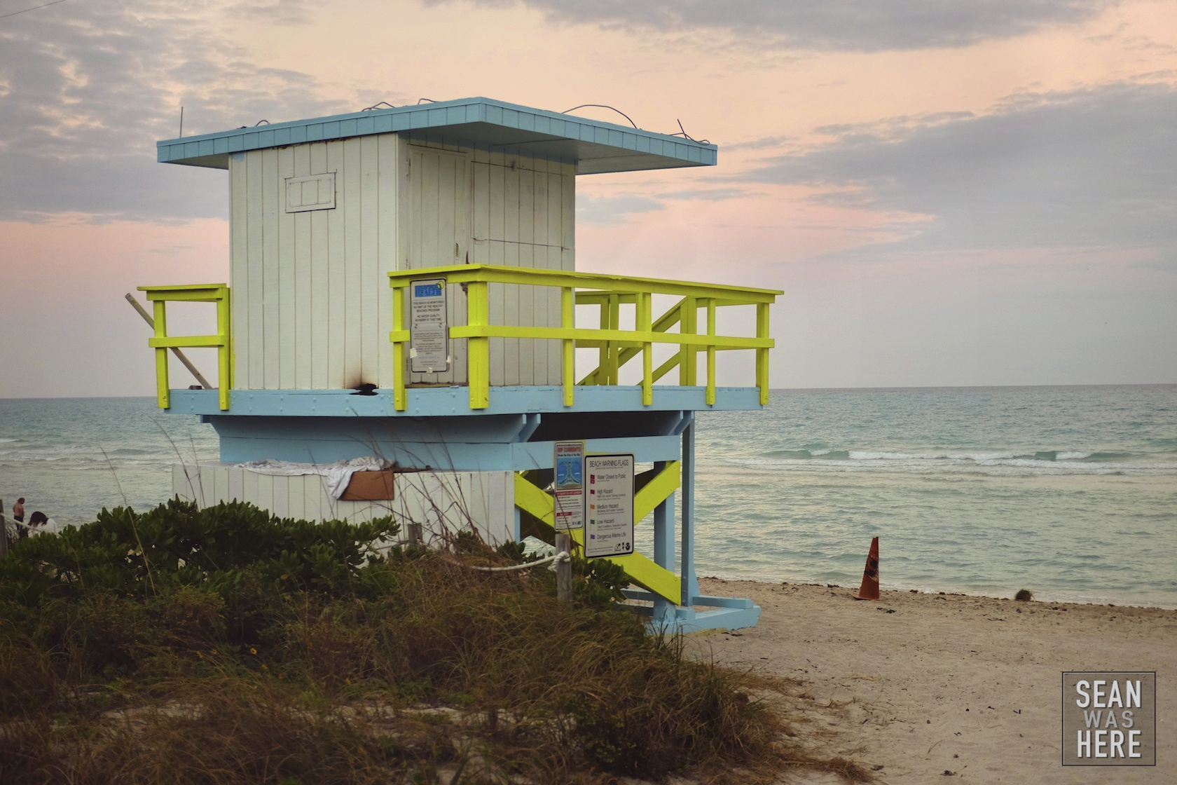 Miami Beach 53rd Street Lifeguard Stand