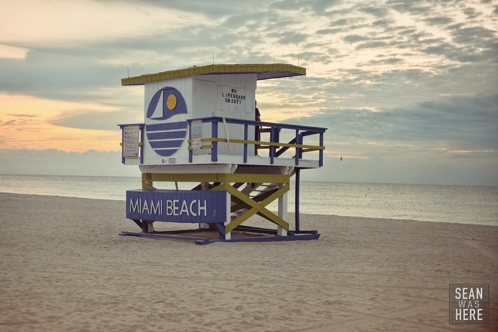 Miami Beach Jetty 5thStreet Lifeguard Stand