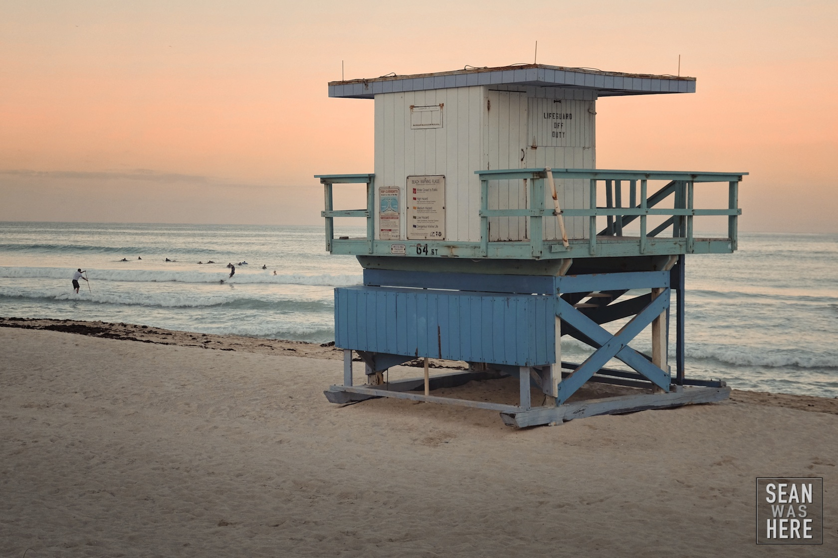 Miami Beach 64th Street Lifeguard Stand