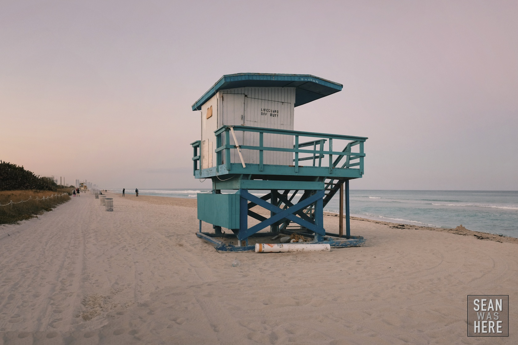 Miami Beach 72nd Street Lifeguard Stand