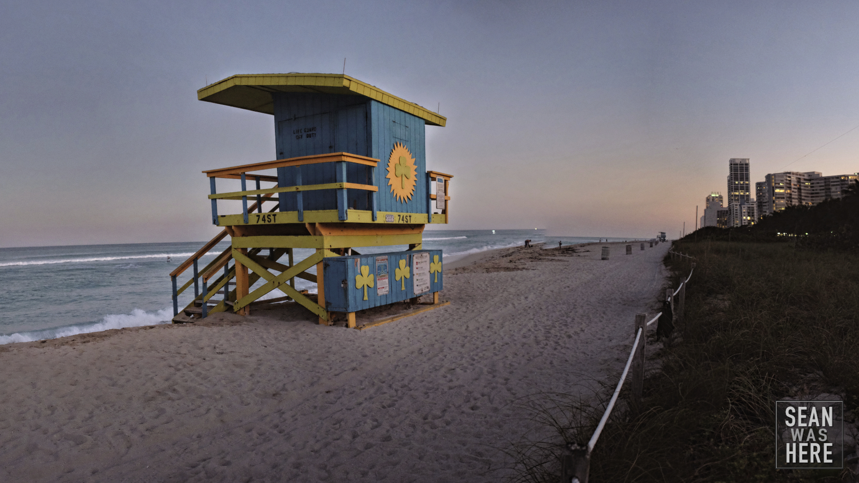 Miami Beach 74thth Street Lifeguard Stand