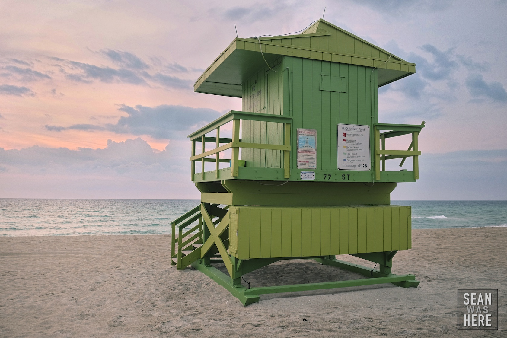 Miami Beach 77th Street Lifeguard Stand