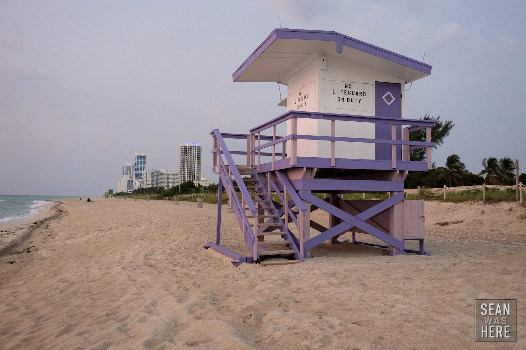 Miami Beach 79th Street Lifeguard Stand