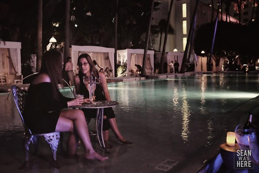 Delano Beach Club. Art Basel Miami 2014