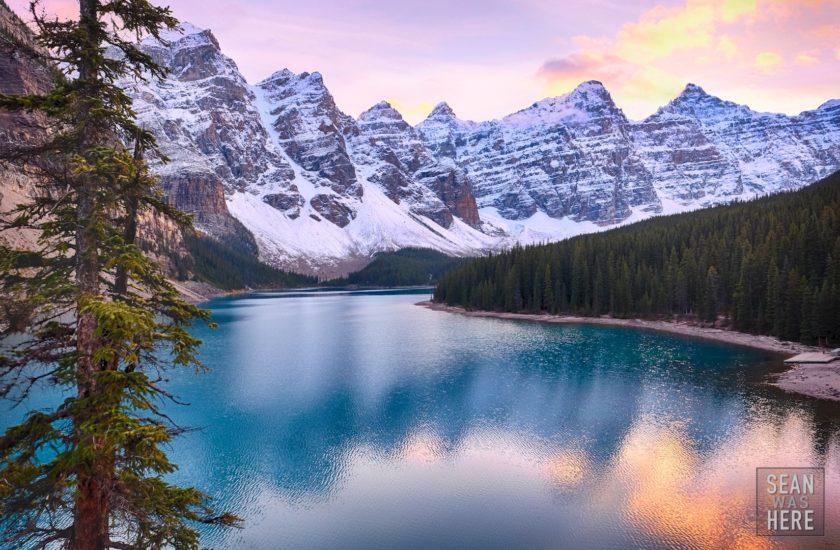 Moraine Lake, Alberta. Banff