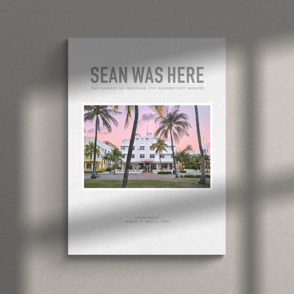 South Beach Quarantine Photo Book By Sean Was Here